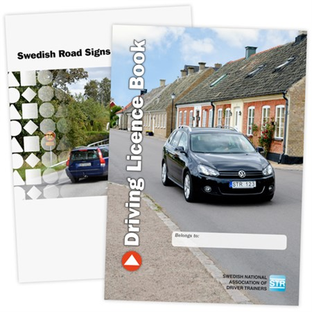 English Driving Licence Book